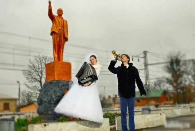 Свадебный фотошоп: бессмысленный и беспощадный