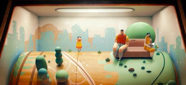 Красивый анимационный клип израильской группы Jane Bordeaux