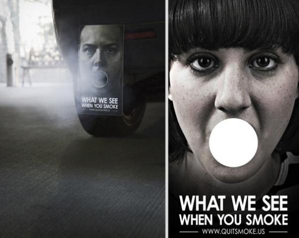 антитабачная реклама, социальная реклама