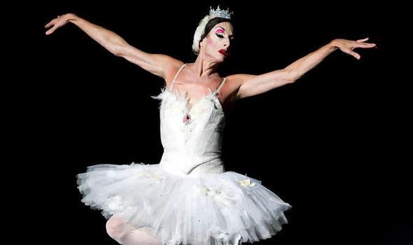 Балет, Les Ballets Trockadero de Monte Carlo, Мужской балет