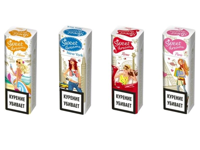 сигареты, реклама сигарет