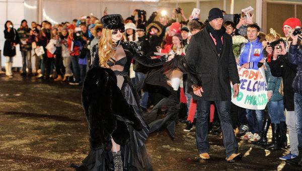 Леди Гага, Леди Гага в Москве