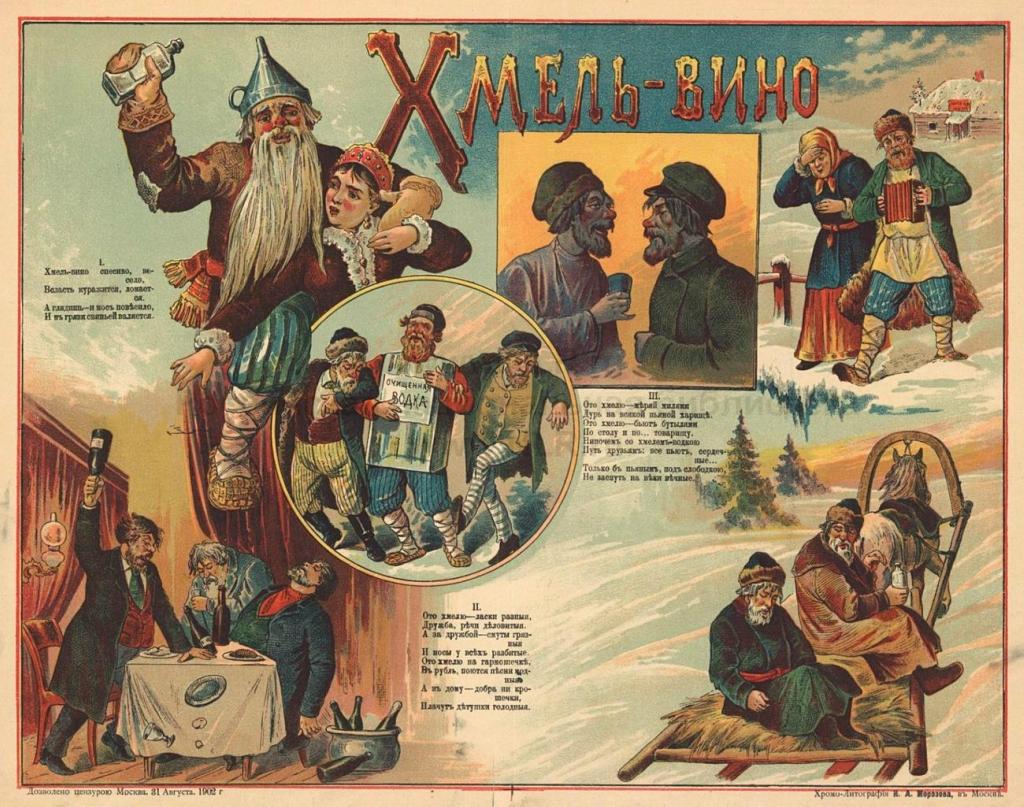 антиалкогольная компания, россия, россия 20 века