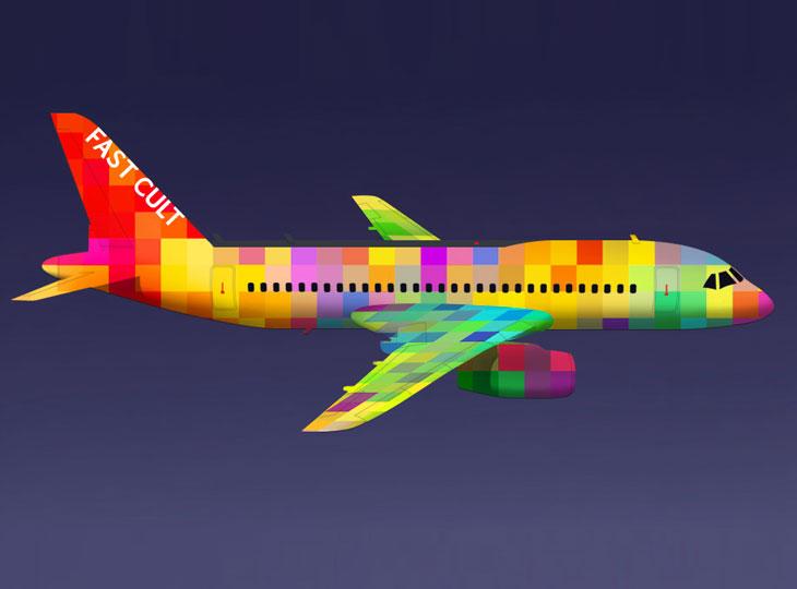 fastcult, самолет, аэрофлот, конкурс