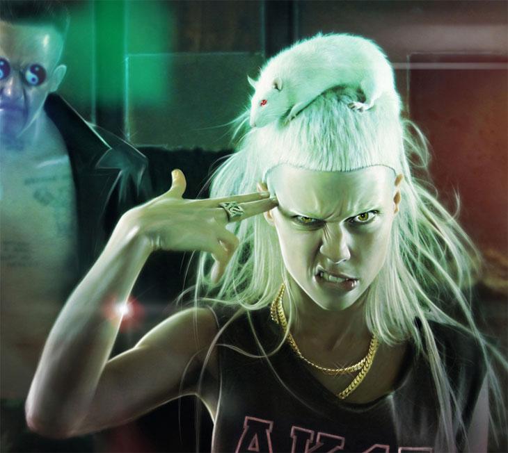 Группа Die Antwoord — в Москве