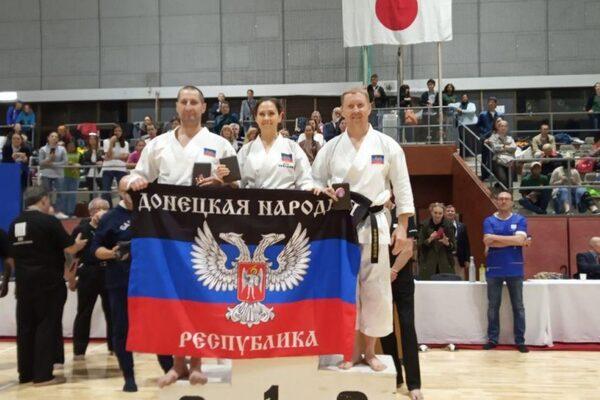 Чемпионат мира по каратэ в Японии. ДНР - 10 - золото, 2 - серебро, 1 - бронза.