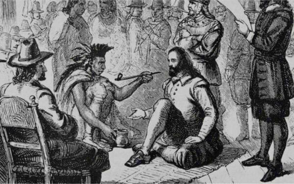 Христофор Колумб охуевает с табака...