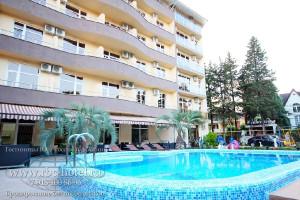 Адлер гостиница отель Кристалл семейный отдых в Сочи курортный городок