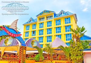 Адлер отель Оазис курортный городок туры на отдых в Краснодарский край