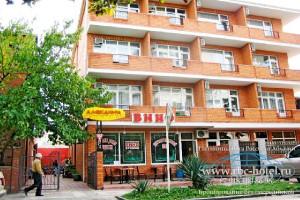 Сочи мини отель Александра в Адлере путешествие на Черное море