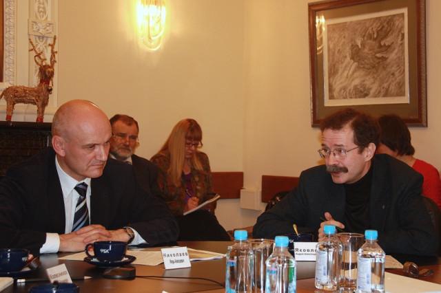 Игорь Николаев и Андрей Яковлев