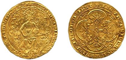 Британский Флорин 1344