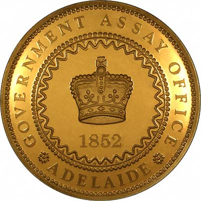 Золотой фунт 1852