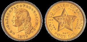 Монета Стелла 1879