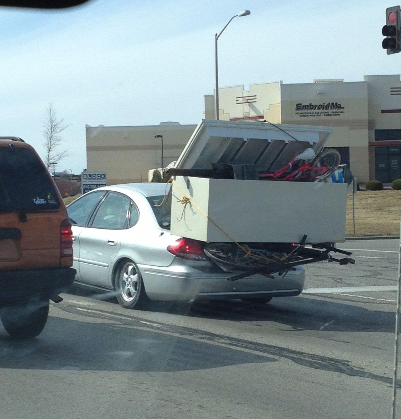 Багажник повышенной вместимости