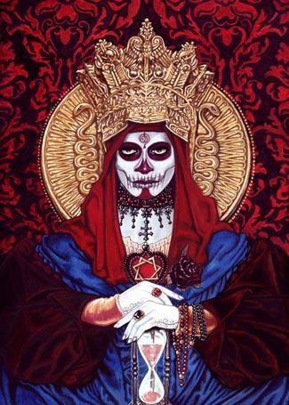 Сантиссима на троне