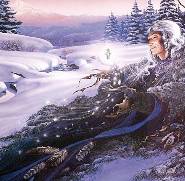 шаманский переход в зиму