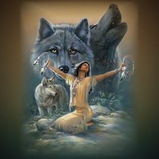 шаманский дух помощник