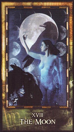 луна школа магии таро