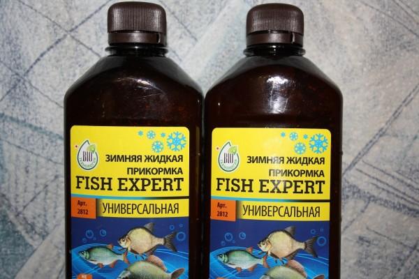 Жидкая прикормка для зимней рыбалки