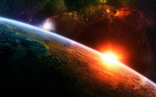art-планета-солнце-восход-355582