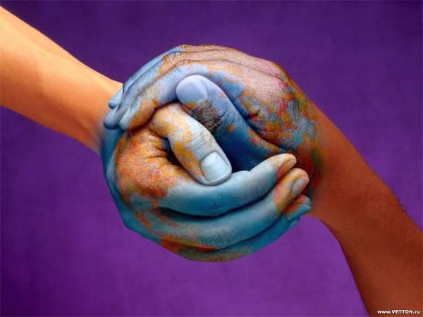 hands-earth