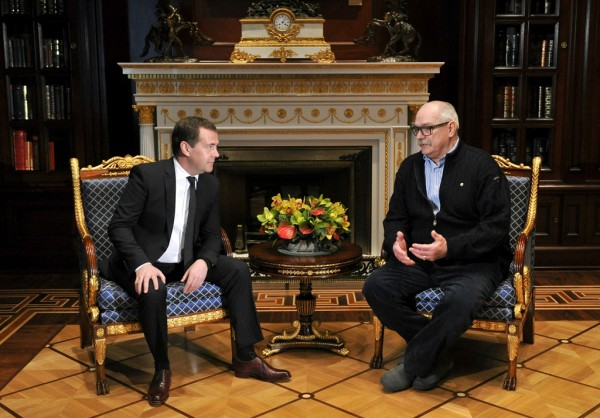 Медведев и Михалков
