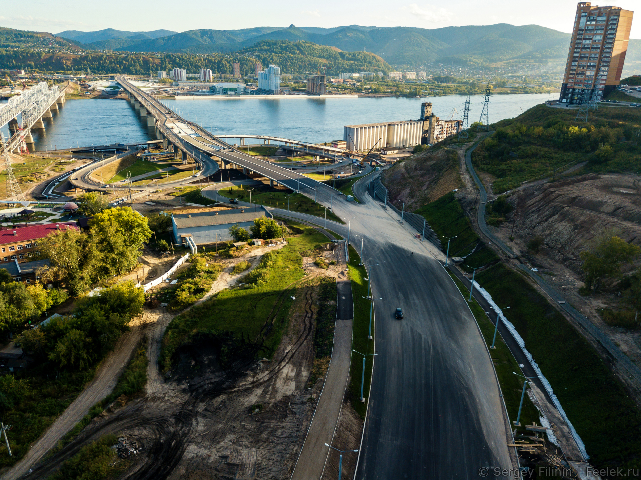 такое могут новый мост в красноярске фото свои номера оригинального