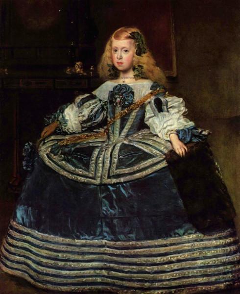 Диего Веласкес-Портрет инфанты Маргариты в восьмилетнем возрасте