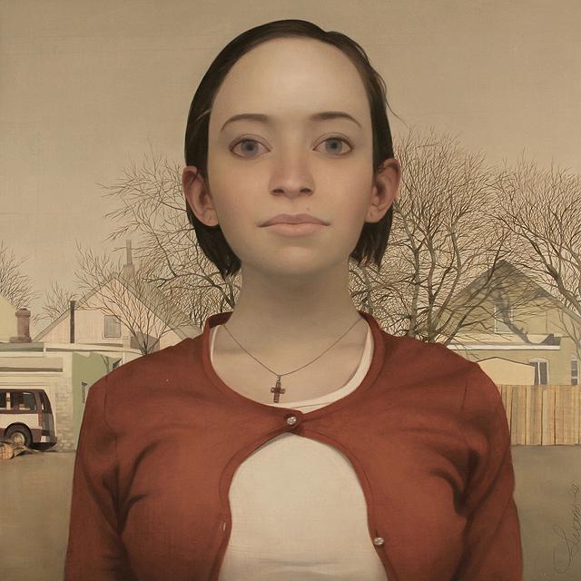 Портреты со странными глазами
