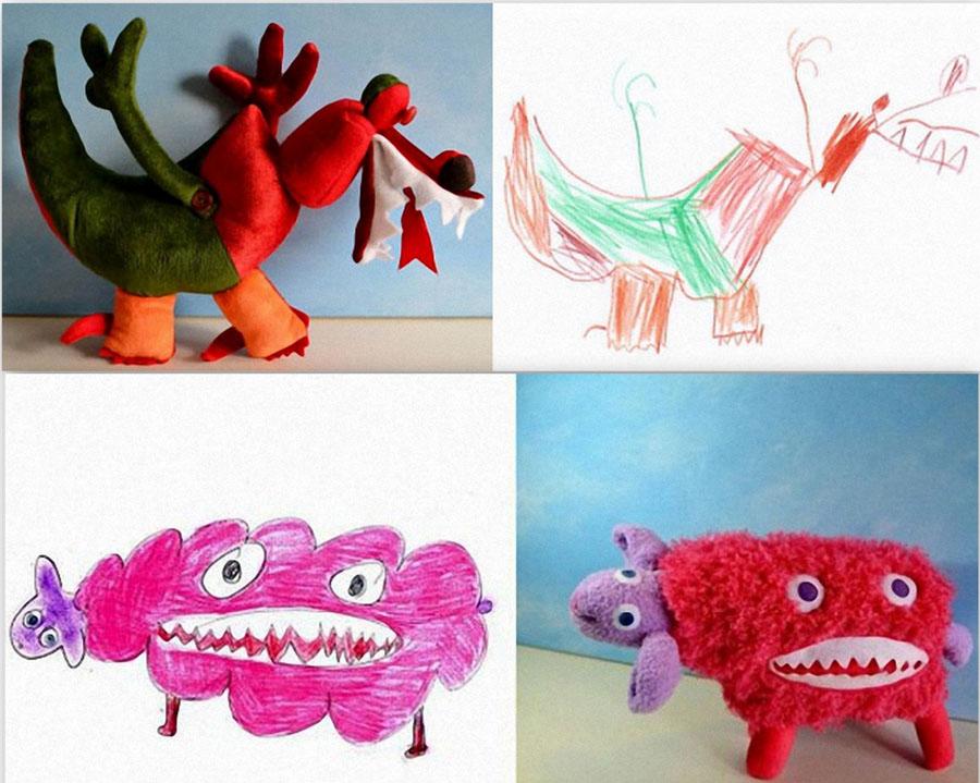 рисунки игрушек: