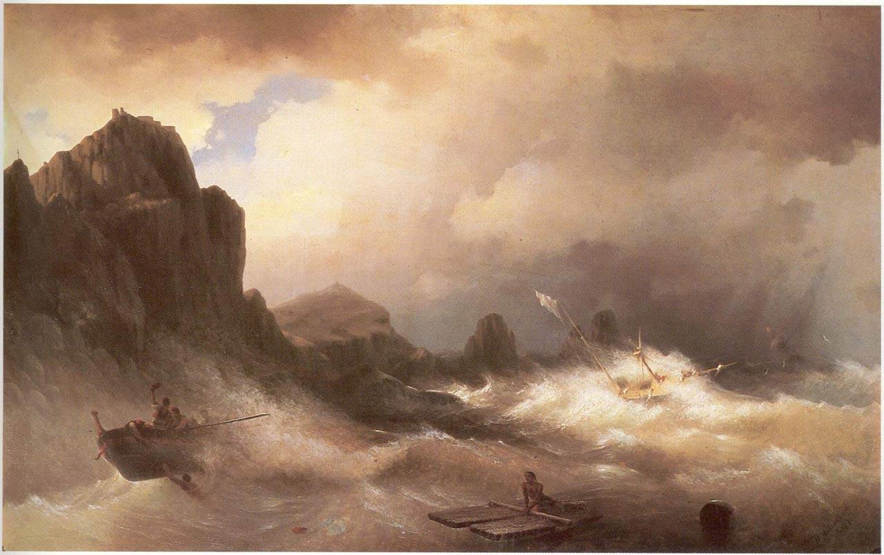 korablekrushenie-ayvazovskiy-1887