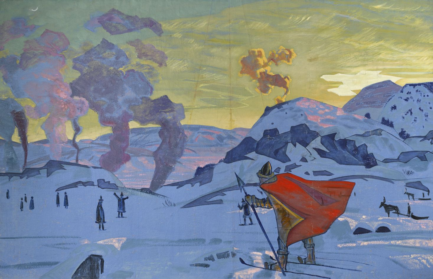 Roerich_The_Signal_Fires_of_Peace-rus