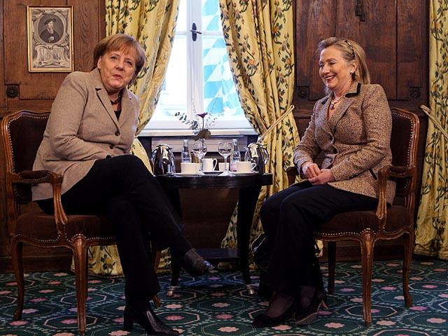 меркель клинтон