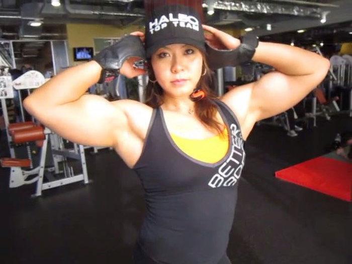 Japanese woman bodybuilding, granny xxx solo sex