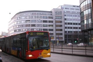Рейсовый автобус в Осло