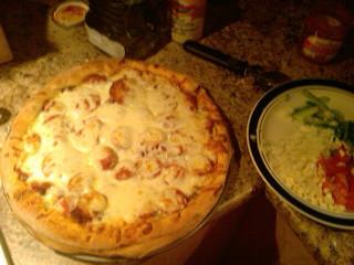 Pizza a la bunny