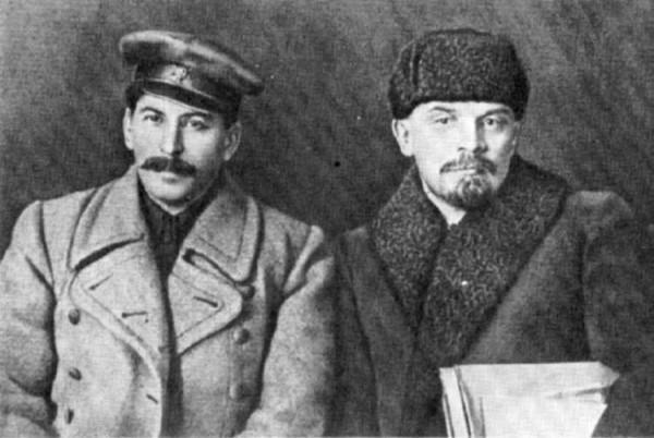 Ленин и Сталин 2