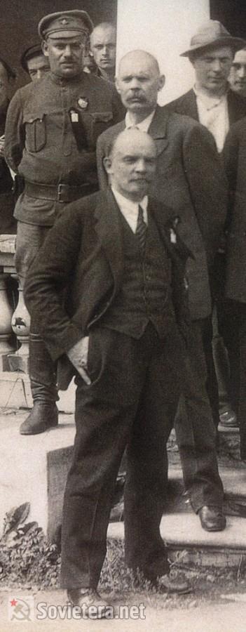 Горький и Ленин
