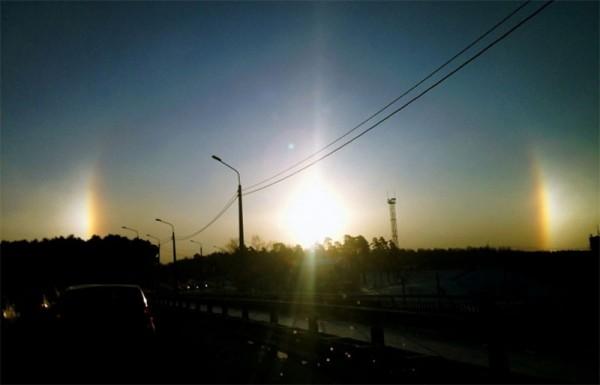 три солнца