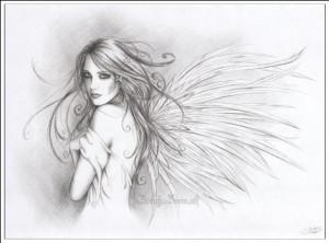 фея лечит крылья