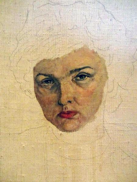 неоконченный портрет.