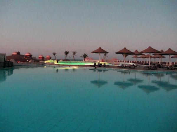 вечер, бассей, Египет