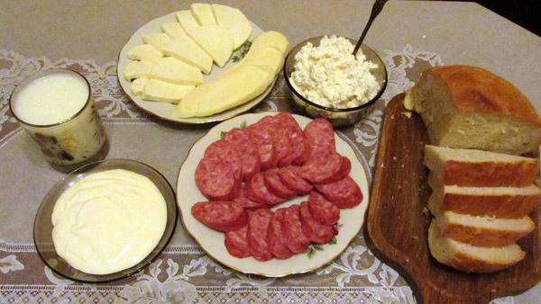 продукты от Бончарово