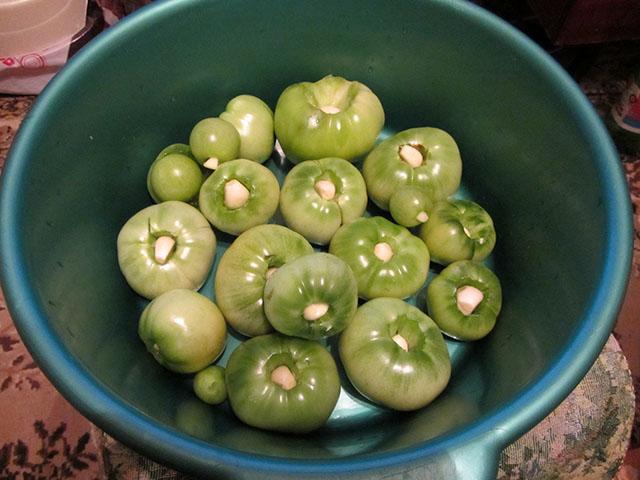 зеленые помидоры 01