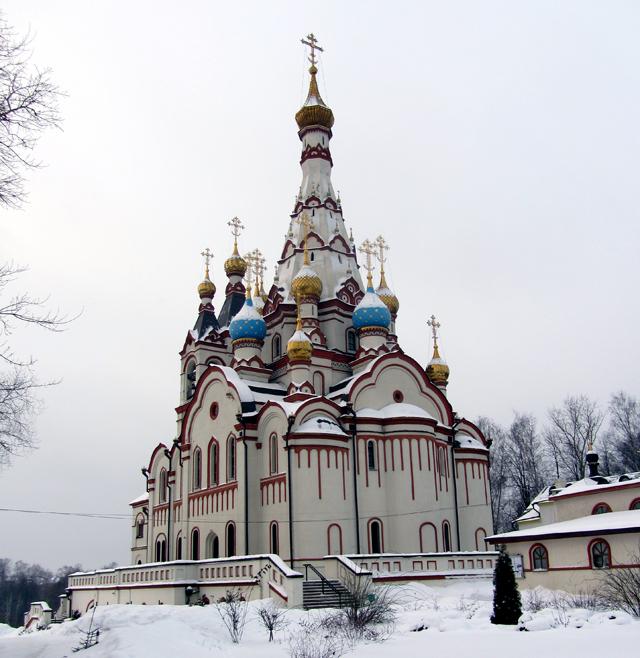 Храм святого Георгия в Долгопрудном