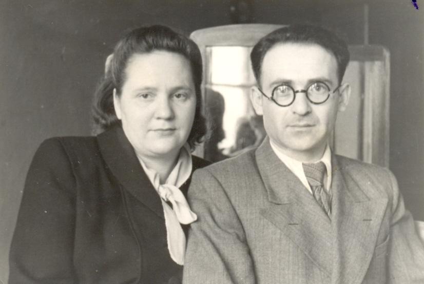 Мама и папа 1951г.