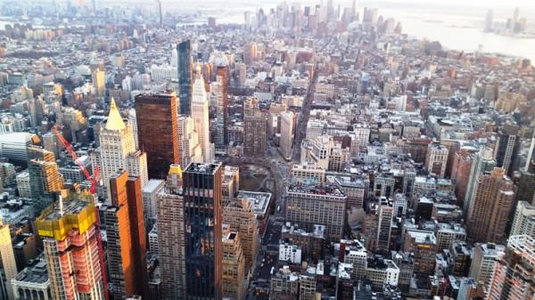 Эмпайр-стейт-билдинг: вид с высоты