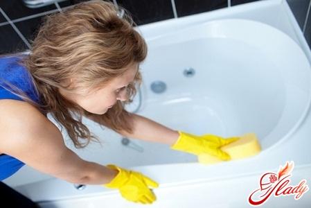 Как очистить ванну от ржавчины