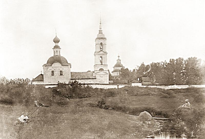 Ильинский Цыпинский погост. Фото семьи Бриллиантовых.